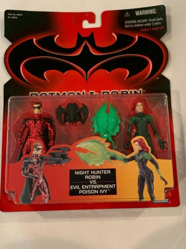 Evil Poison Ivy Figure 1997 MOC Batman /& Robin Movie Night Hunter Robin vs