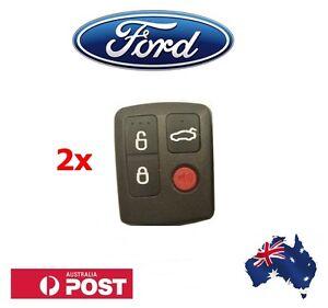 2-x-Ford-Remote-BA-BF-Falcon-Sedan-Wagon-Keyless-Car-Remote-4-Button-Keypad