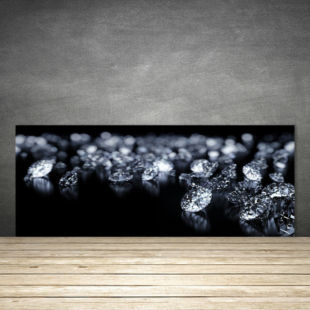 Crédence de cuisine en verre Panneau 125x50 Art Diamants
