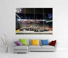 F1 SINGAPORE NIGHT RACE FORMULA ONE GIANT WALL ART PHOTO PRINT POSTER