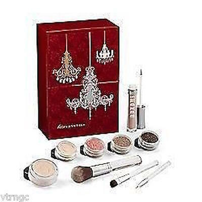 Bare Escentuals Bareminerals Barecrystals Collection 9 Pc Kit New