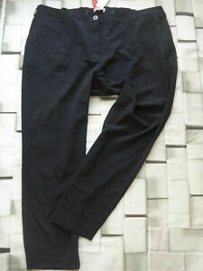 Sheego-Trousers-Cloth-Pants-Blue-Tone-Elastic-Band-Back-Size-54-to-58-plus-921
