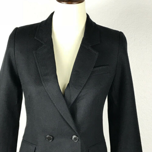 Coat Twill 1 Uld Band Jacket Blazer Double Breast Lined Of Krympet Outsiders xaB6qwfFU