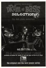 3/12/94PGN35 DRUM & BASS SELECTION 3 THE DUB PLATE SECTION ALBUM