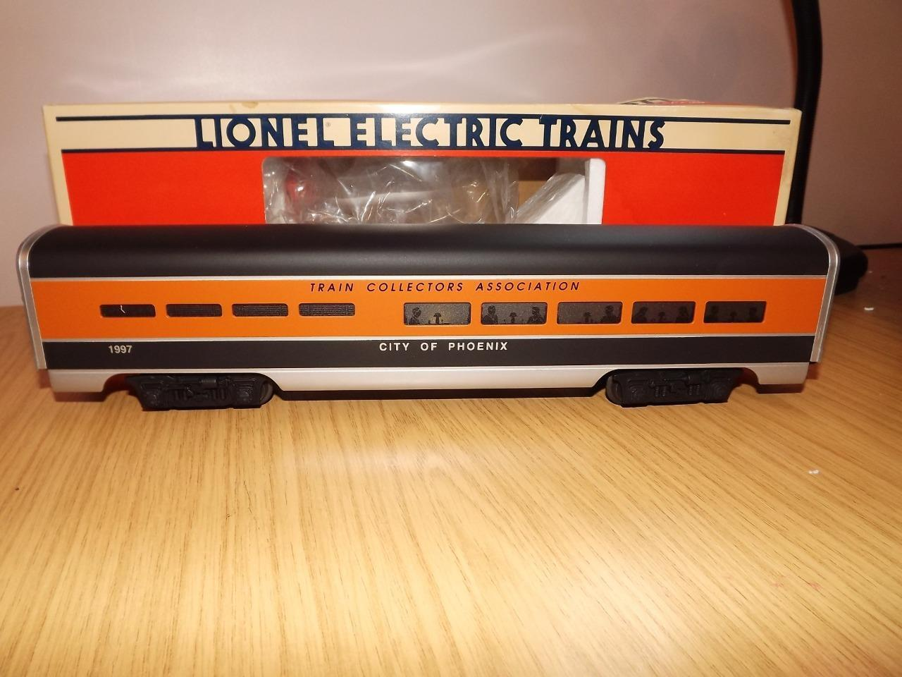 Ab87: Lionel O Gauge Train Collectors Association Dining Car 6-52106 Exc/Boxed