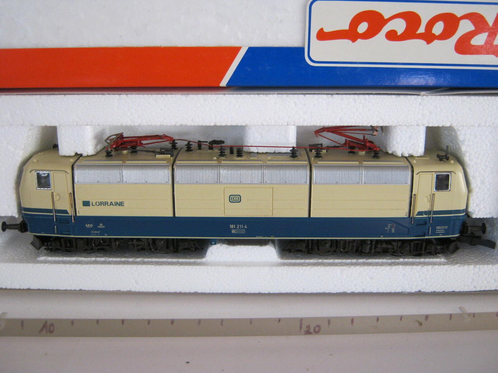 ROCO HO 43692 Elektro Lok Lorraine btrnr 181 211-4 DB (rg bs 079-75s8f4)