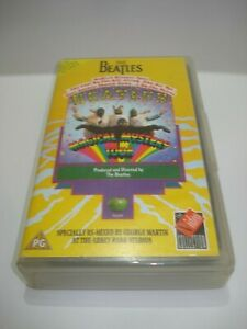 THE-BEATLES-MAGICAL-MYSTERY-TOUR-VHS-VIDEO-TAPE-PAL-FREE-POSTAGE