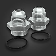 Oil Cooler Adapter Fittings For SETRAB & MOCAL M22 TO -8 JIC (2 PACK)