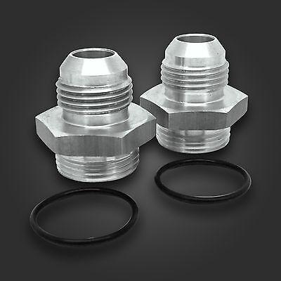 "HEL PERFORMANCE Turbo Oil Restrictor 1mm Adapter GARRETT GT 7//16/"" x 24 TO 4 JIC"