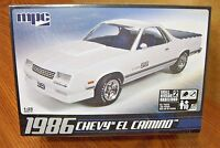 Mpc 1986 Chevy El Camino 1/25 Scale Model Kit