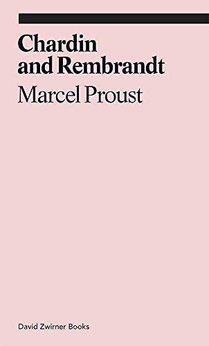 Chardin Et Rembrandt: Marcel Proust (Ekphrasis) Par Jennie Feldman, Neuf Livre ,