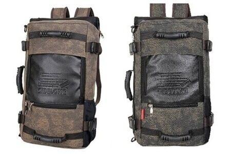 3-Way Multi-purpose Backpack - Mud Brown