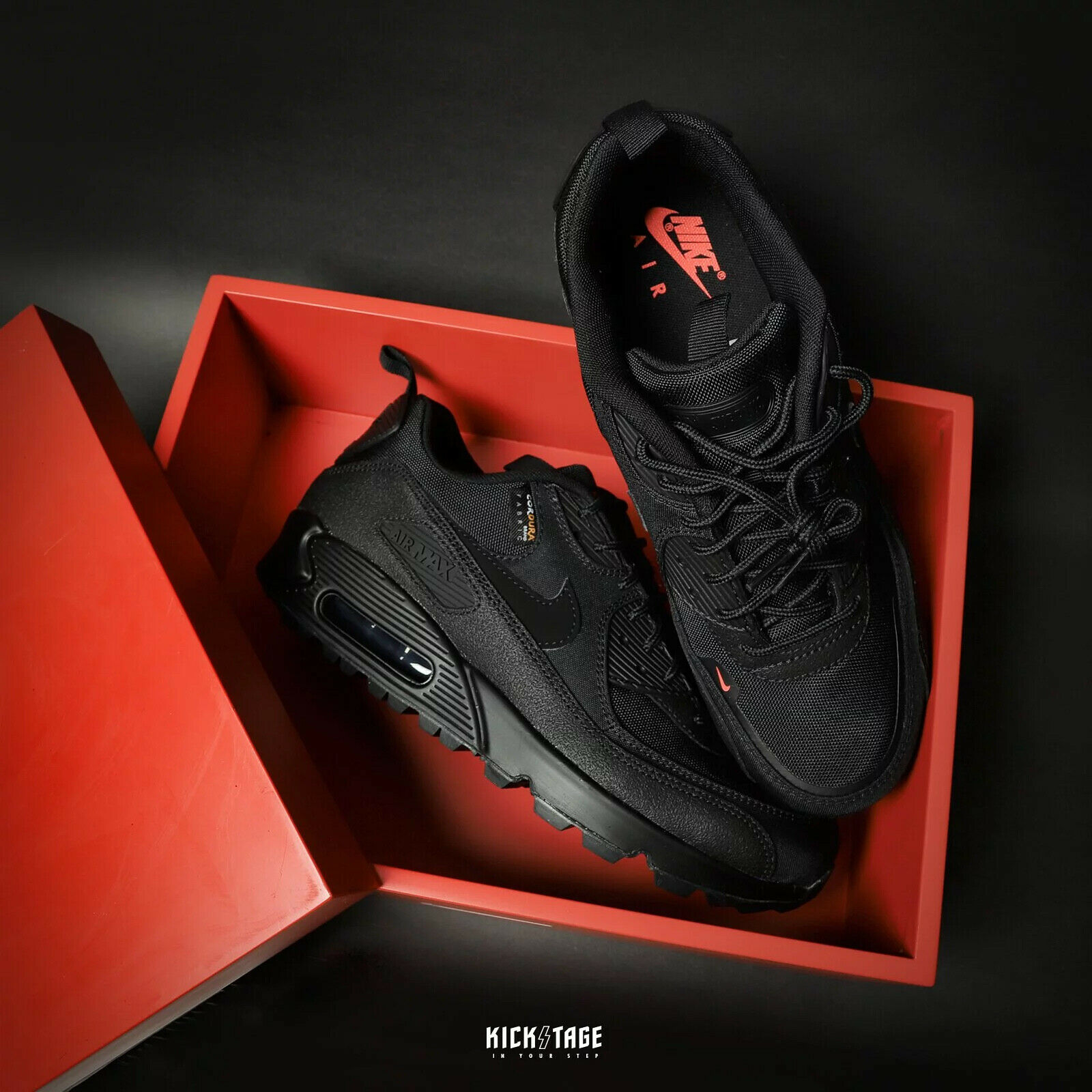 Size 13 - Nike Air Max 90 Surplus Black 2020 for sale online   eBay