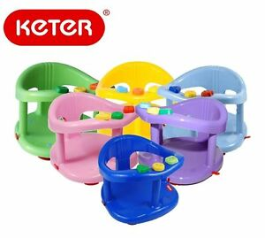 keter infant baby bath tub ring safety seat anti slip chair durable genuine nib ebay. Black Bedroom Furniture Sets. Home Design Ideas
