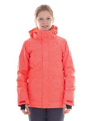 Aggressivo Brunotti Skijacke Snowboardjacke Schneejacke Pink Cappy 8k Wärmend