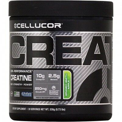 Cellucor Cor-Performance CREATINE Matrix 30 Servings Granny Smith Apple