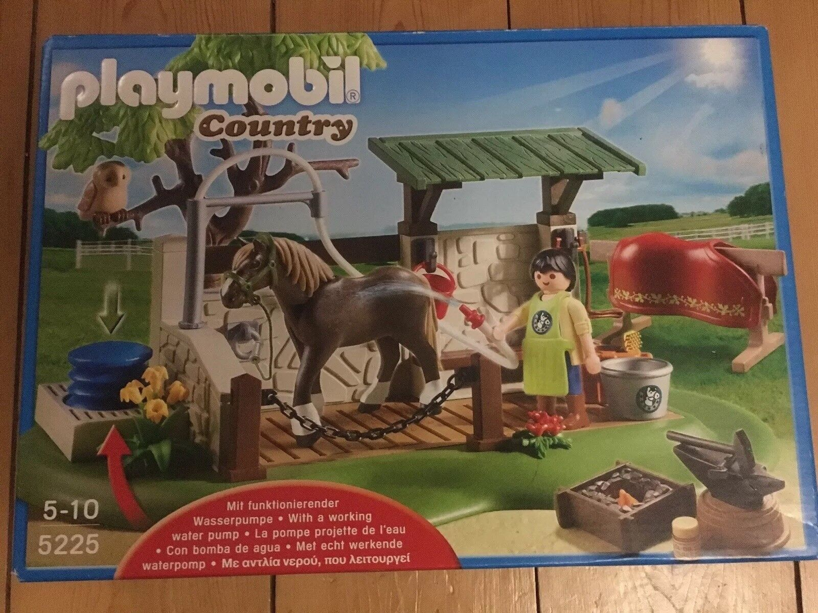 Playmobil 5225 Country Horse and Pony Care Station