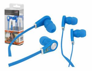 iPhone-smartphone-tablet-Stereo-In-Ear-Headphones-twin-turbo-Jack-3-5mm-blue