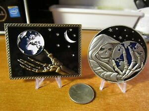 Details about Set of 2 Challenge Coins Joint Special Operations Command  JSOC & CIA SAD Reaper