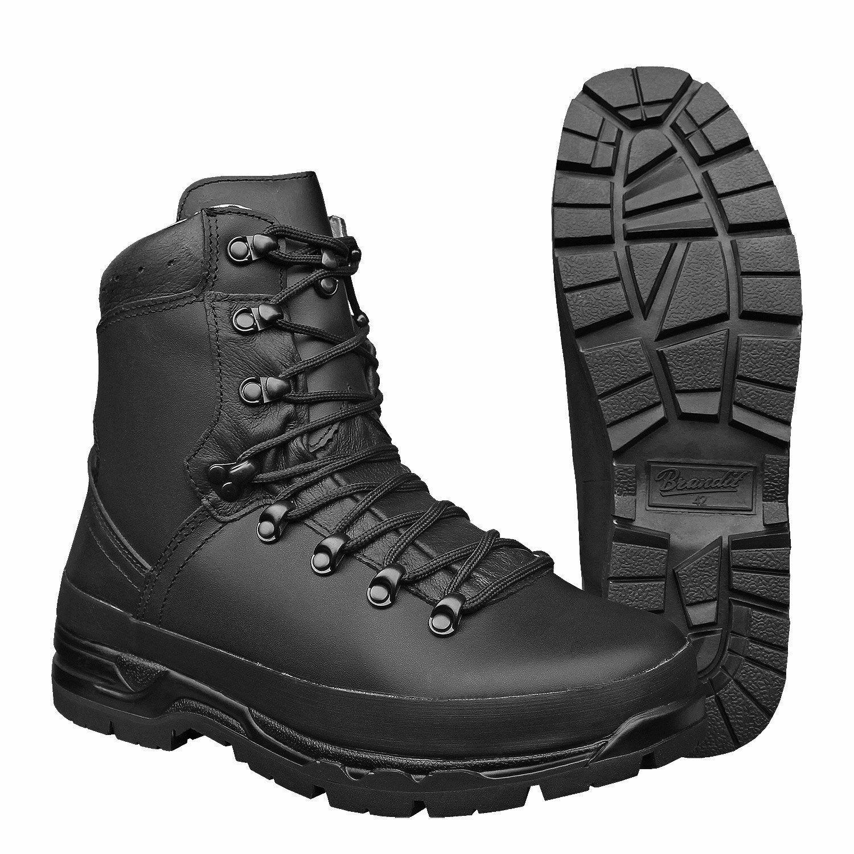 BRANDIT Boots boots Combat boots man army mountain trekking Bergschuh N.44