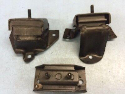 Front Left /& Right Motor Mounts /& Trans Mount Set 3PCS for 89-93 Ford F-150 4.9L