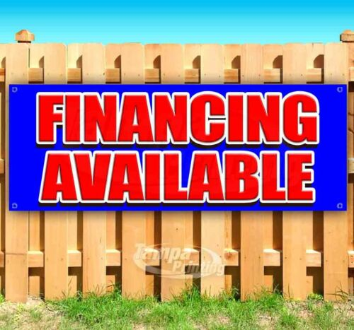 FINANCING AVAILABLE Advertising Vinyl Banner Flag Sign Many Sizes