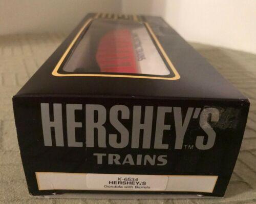 Details about  /K-LINE K-6534 HERSHEY'S GONDOLA WITH BARRELS NEW