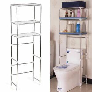 Details Zu 3 Ablagen Badregal Toilettenregal Waschmaschine Regal Standregal Handtuchhalter