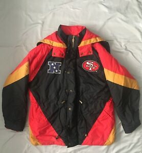 check out ae4c5 ea057 Details about Lee Sport Team NFL San Francisco 49ers Puffer Jacket Vintage