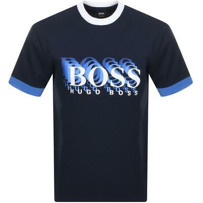 Hugo Boss BOSS T-shirt Top size Large Men/'s BNWT Navy Blue NEW