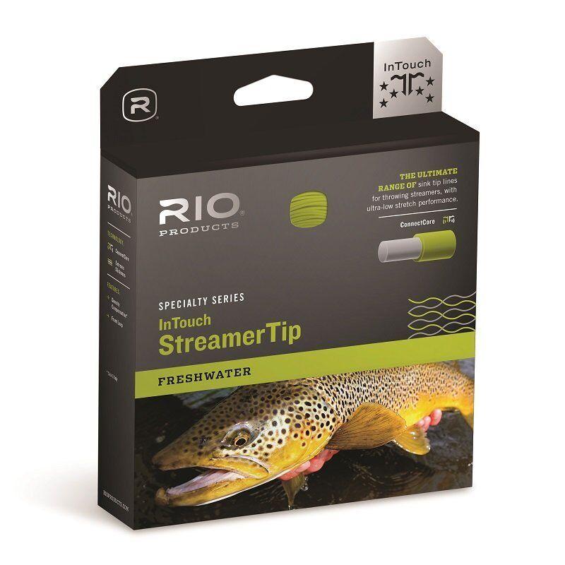 RIO InTouch Streamer Tip Fly Line  WF5Fi  Intermediate Tip  nuovo