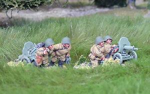 28mm-WW2-Russian-Soviet-Heavy-Machine-Gun-Team-Unpainted-historical-Bolt-Action