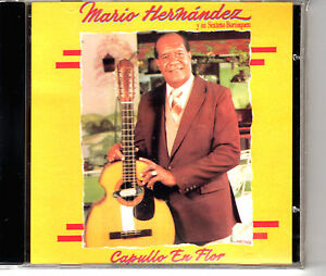"""MARIO HERNANDEZ Y SU SEXTETO BORINQUEN - """" CAPULLO DE FLOR"""" CD"""