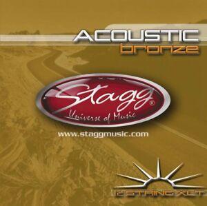 Stagg-AC-12ST-Bronze-Extra-Light-String-SET-For-12-String-Guitar-EU-stock