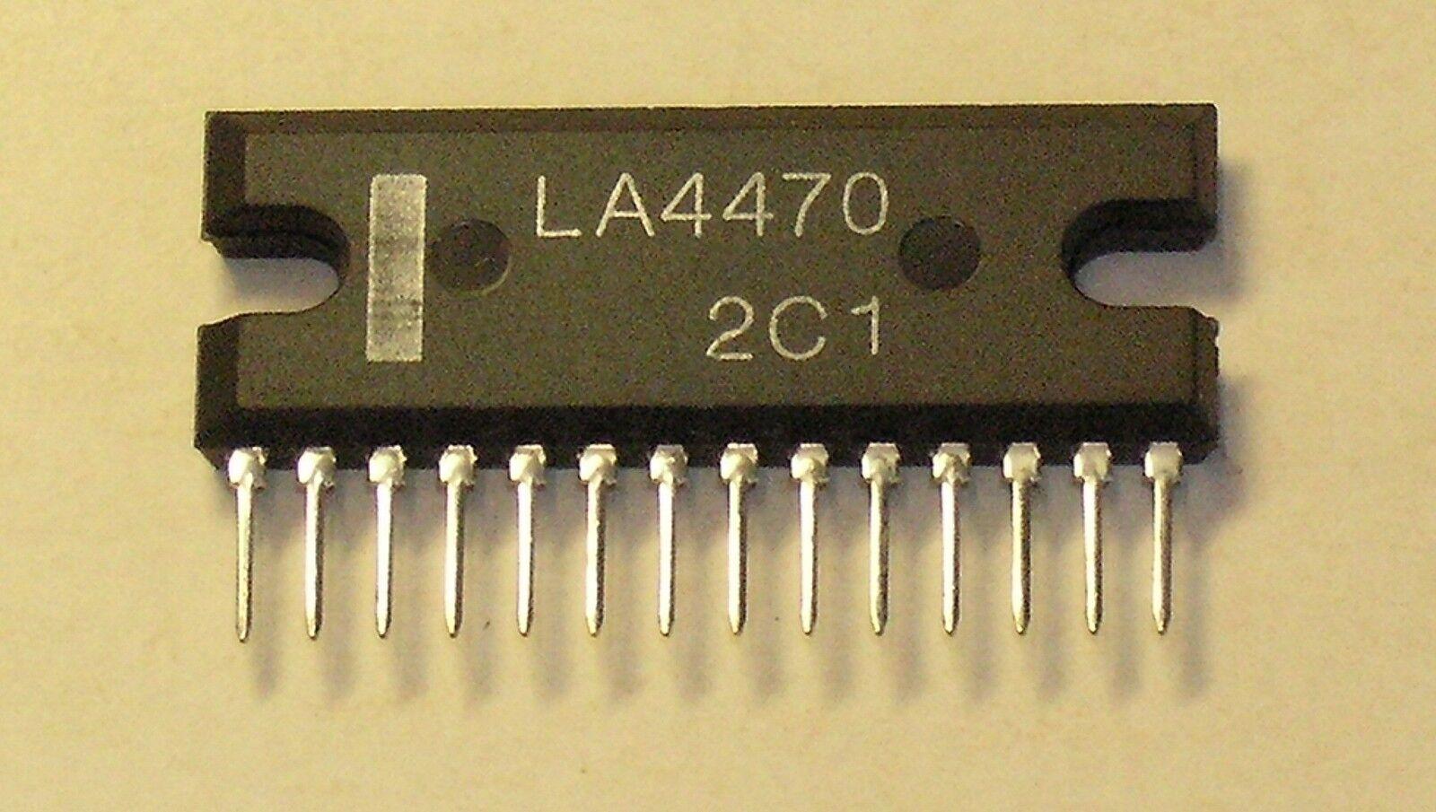La4470 Sanyo 20w 12v Btl Otl Stereo Audio Amplifier Chip Ebay Lm380 25 Watt Norton Secured Powered By Verisign