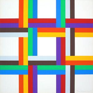 Verena-LOEWENSBERG-034-Senza-titolo-034-1970-73-Serigrafia-a-colori-69-x-69-cm