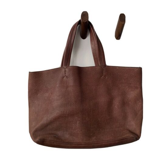 """Marlow Goods """"Breton"""" Leather Tote"""