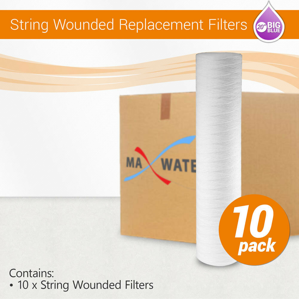 20  x 4.5  Big Blau Whole House String Wounded Filter Replacment