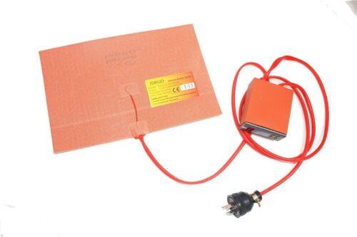 "16/"" X 34/"" 406 X 864mm 1800W 3M JSR  CE Silicone Rubber Heater Digital Controller"
