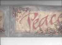 Wallpaper Border Pray For Peace Pride Hope Birds Nest Frames Arrival Flowers