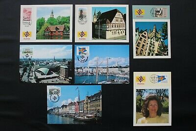 1993 Aland Ausstellungskarten/exhibition Cards 50% OFF Europa