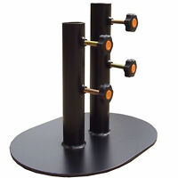 Kendo Cutting Practice Stand Support 2 Poles Safe Cut Swing Training Martial Art
