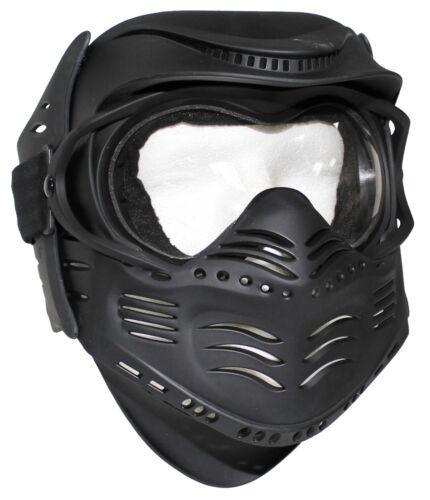 MFH Gesichtsschutzmaske FIGHT schwarz  Gotcha Gesichtsmaske Face Mask