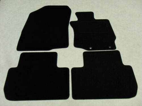2013-on Fully Tailored Deluxe Car Mats in Black Mitsubishi Outlander Auto