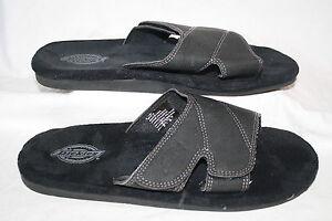 New Mens Dickies Slide Sandals Style 119841 Black 83E lr