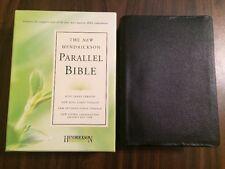 Hendrickson Parallel Bible-PR-KJV/NKJV/NIV/NLT (2008, Bonded Leather)