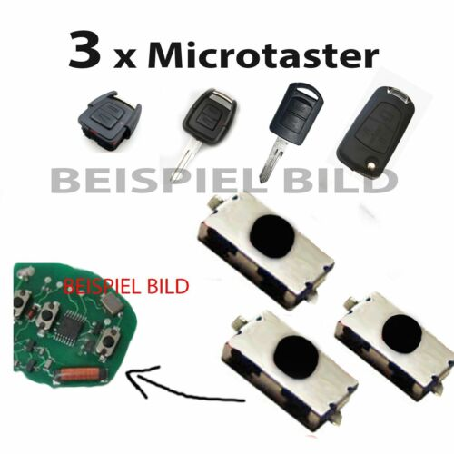 Für Opel ~ Schlüssel Funkschlüssel Fernbedienung Taster Mikroschalter Schalter