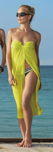 EXKLUSIVES Multi-Style-Strandkleid Gr. 38 von OLYMPIA! Gelb NEU!