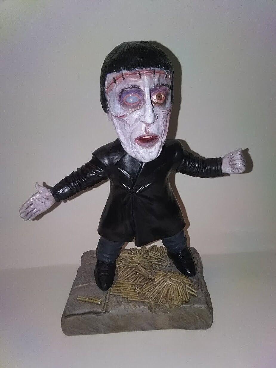 La maldición de Frankenstein. Christopher Lee imita el kit kit kit de resina metamorfica. f1a