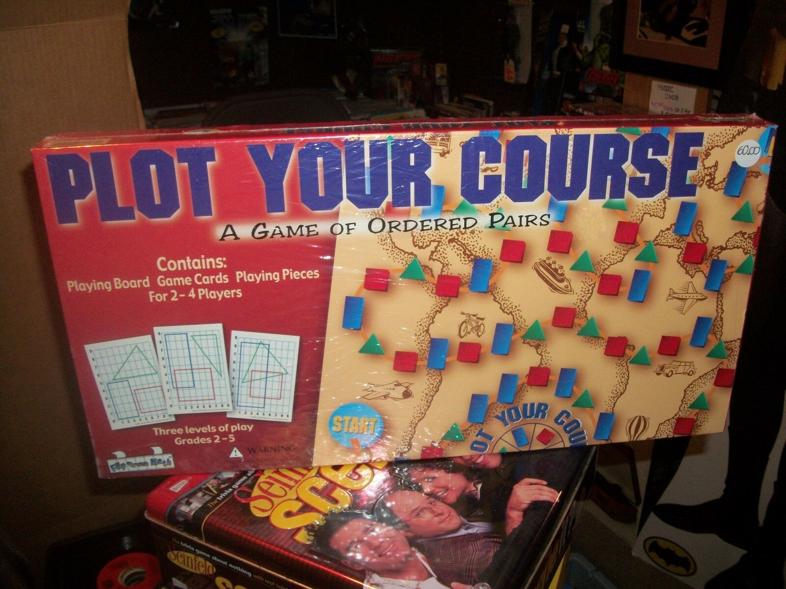 PLOT YOUR COURSE -- BOARD GAME  SEALED